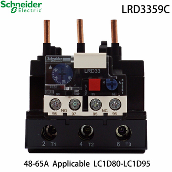 Schneider Electric LRD3359C contactor LR-D3359C 48-65A LC1D TeSys contactor thermal overload relay brand new original export