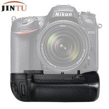 JINTU – Pack de poignée de batterie verticale pour Nikon D7100 D7200, appareil photo numérique SLR professionnel de haute qualité