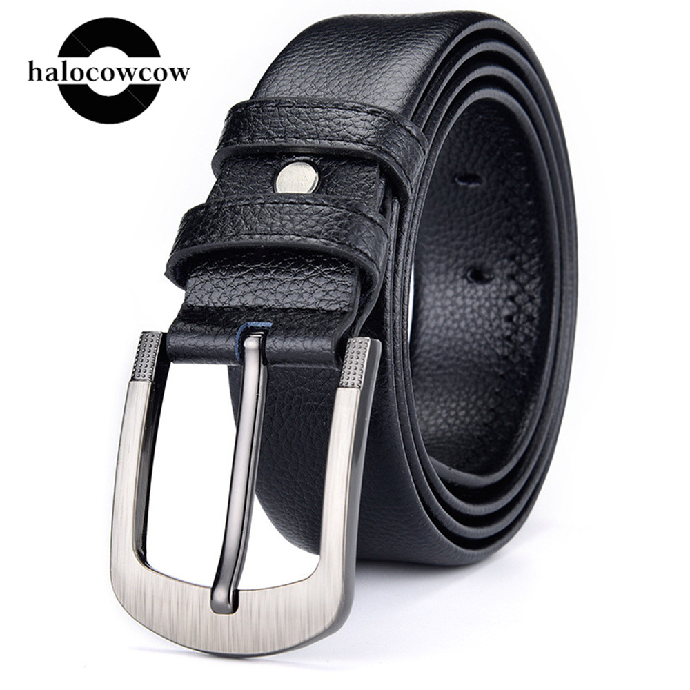130 140 150 160cm Large Size Belts For Men Brand Luxury Designer Leather Vintage Waist Big Plus Size Pin Buckle Belt Accessories