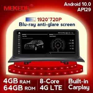 Image 1 - Автомобильный мультимедийный плеер MEKEDE, HD, 10,25 дюйма, GPS, Android 10, DVD, для BMW X3, E83, 2004 ~ 2010, 2 Гб ОЗУ, радио, FM, Wi Fi