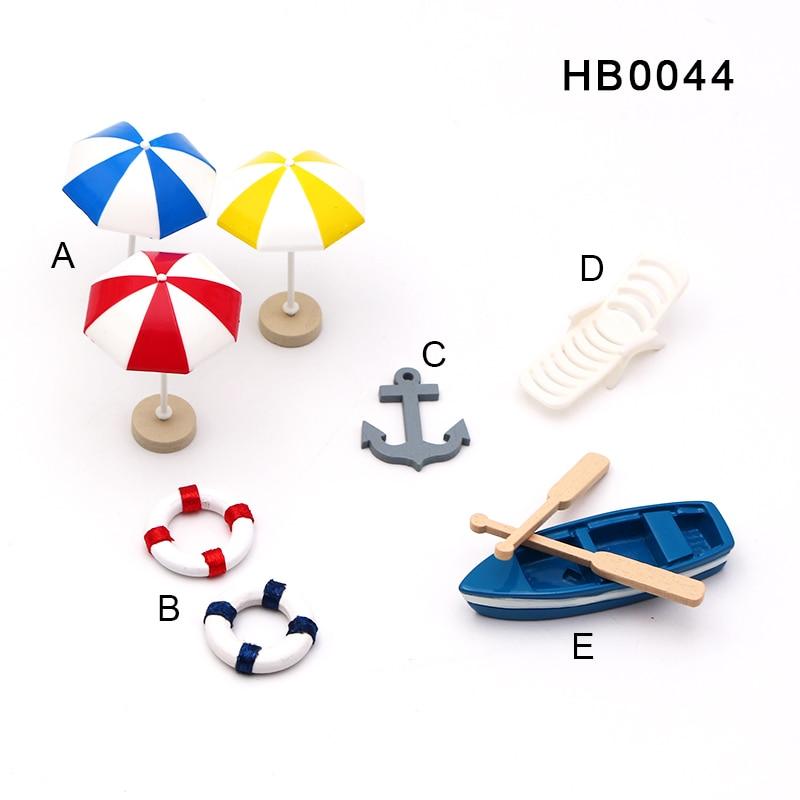 Mini sombrilla Artificial estilo Pastoral, Banco Silla de playa, Micro Hada en miniatura de jardín, casa de muñecas, ornamento DIY, accesorios DIY|Figuras y miniaturas|   - AliExpress
