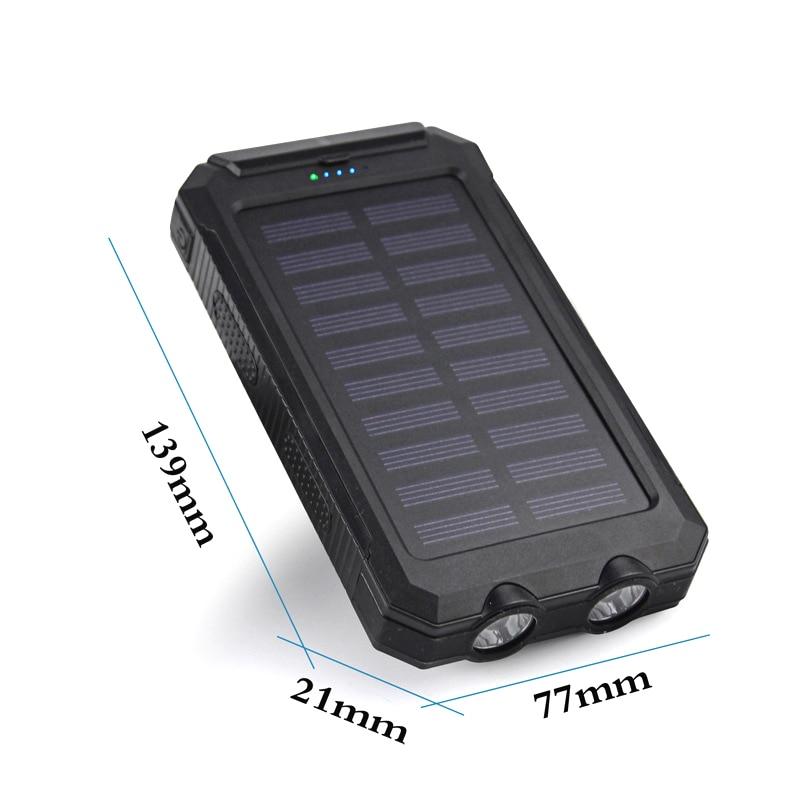 banco de energia solar 20000mah com luz 01