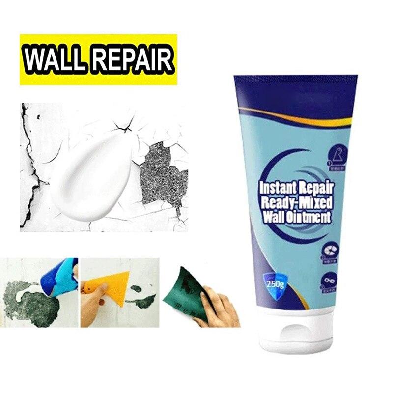 «Лучший» Ремонт трещины стены крем Ремонт мазь готовые смешанные быстросохнущие легкие для дома 889 - Цвет: 250g