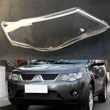 פנס עדשה עבור מיצובישי הנכרי EX 2007 2008 2009 פנס כיסוי החלפת קדמי רכב אור אוטומטי פגז