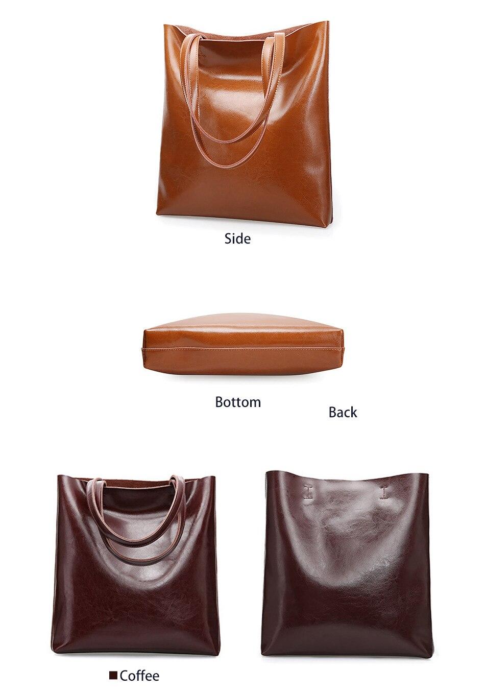 marrom grande capacidade sacos de compras preto tote bolsa