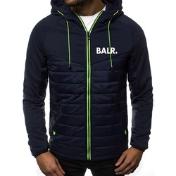 2020 New Fashion Hoody Spliced Jacket Printed BALR Men Hoodies Sweatshirts Casual Coat Hooded