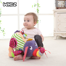 Baby Toys 0 6 12 Months Plush Elephant Educational Toys for Baby Boys 1 Year to Hang in Bed Stroller