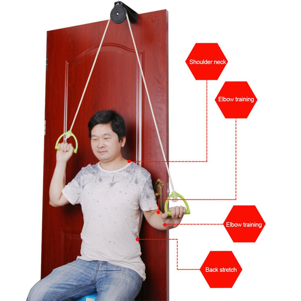 Pain Relief Upper Limb Shoulder Joint Rehabilitation Training Kit Exercise Door Hanging Pulley Trainer Home Use Braces Supports