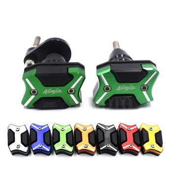 Motorcycle Frame Guard Cover Sliders Anti-Falling Crash Pads Protector For Kawasaki Ninja ZX6R ZX-6R ZX636 2007 2008 ZX 6R