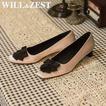 Женские босоножки на низком каблуке will & zest белые туфли