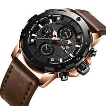 KADEMAN 2019 NEW Top Luxury Brand Relogio Masculino Trend Mens Watches Leather Strap BIG Dial Quartz Watch Mens Reloj Hombre