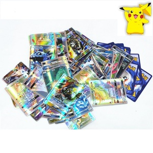 Image 2 - 100pcs Pokemon Toys GX EX MEGA Shining cards Game Battle Carte No Repeat Pikachu Card Game For Childrens Chrismas Birthday Gift