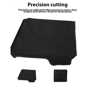 Image 5 - Slim Console Soft Dust Proof Cover Voor PS4 Voor Sony Playstation 4 Mouw Voor Plaats Stofdicht Case Waterdichte Stof proof Cover