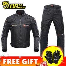 DUHAN Motorcycle Jackets Men Riding Motocross Enduro Racing Jacket Moto Jacket Windproof Coldproof Motorbike Clothing Protection