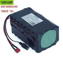 60V 16S2P 6Ah 18650 Li Ion Akku 67,2 V 6000mAh Ebike Elektrische fahrrad Roller mit 20A entladung BMS 1000Watt