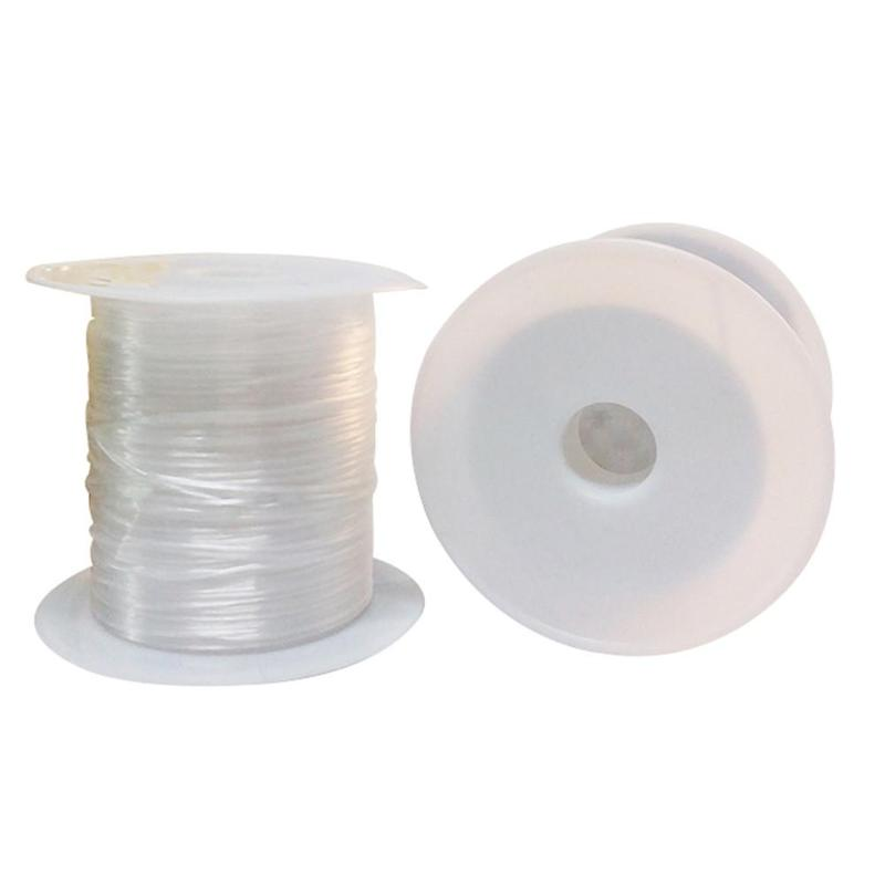 10m Roll Spandex Cord Thread Chinese Knot Elastic Cord Braided