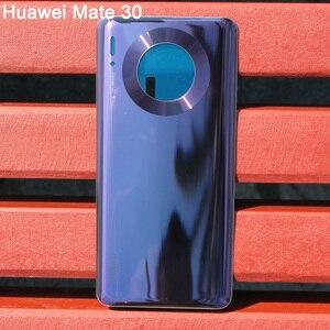 Image 5 - Huaweiฝาหลังแบตเตอรี่เดิมสำหรับHUAWEI Mate 30 Pro 5G Mate30 ด้านหลังฝาครอบด้านหลังป้องกันโทรศัพท์กรณี