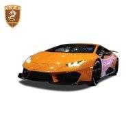 Carbon Fiber Front Lip For Lamborghini Huracan LP580 V Style Front Lipcarbon fiber front chin Car Trim Body Kits