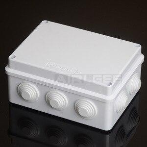 Image 4 - סיטונאי ABS פלסטיק IP65 עמיד למים צומת תיבת DIY חיצוני חשמל חיבור תיבת כבל סניף תיבת 200x100x70mm