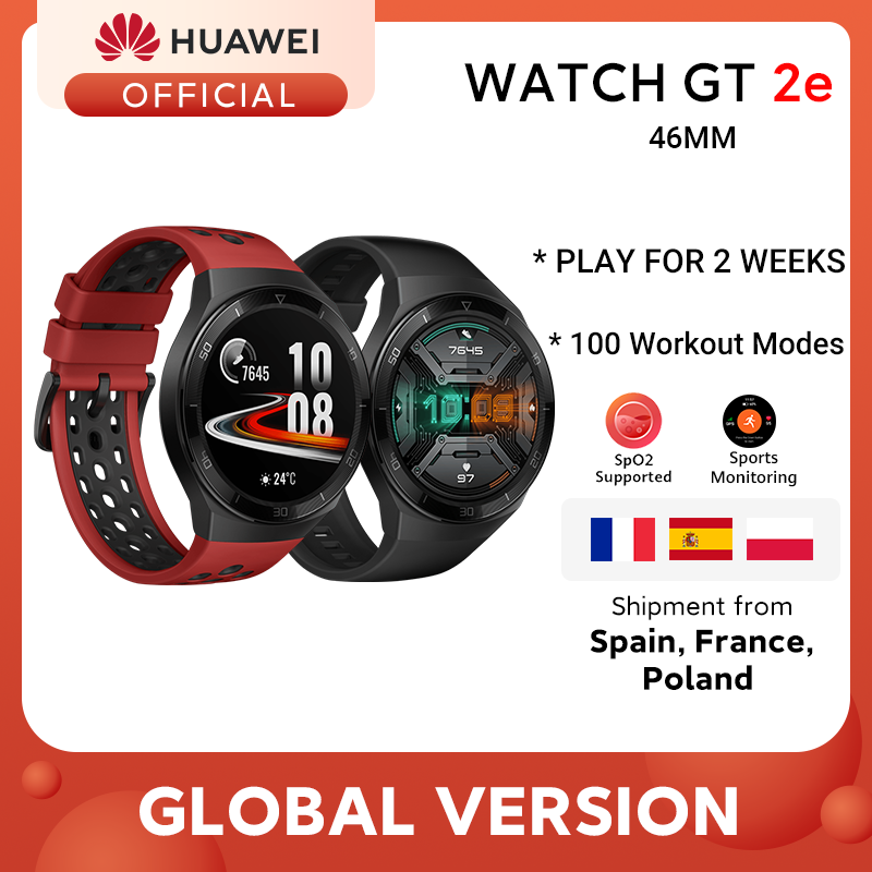 Global Version HUAWEI Watch GT 2e Smart Watch Blood Oxygen 1.39'' AMOLED 14 Days Life 5ATM Waterproof Heart Rate Tracker GT 2e Smart Watches  - AliExpress