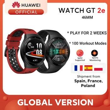 Global Version HUAWEI Watch GT 2e Smart Watch Blood Oxygen 1.39'' AMOLED 14 Days Life 5ATM Waterproof Heart Rate Tracker GT 2e