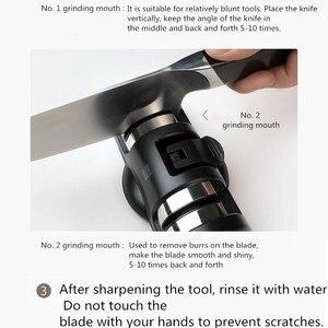 Image 5 - Huohou Sharpen Stone Double Wheel Whetstone Sharpeners K nife Sharpening Tool Grindstone Kitchen Tools HUOHOU