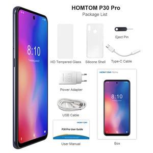 Image 5 - グローバルバージョン HOMTOM P30 プロ MT6763 オクタコア 4 ギガバイト 64 ギガバイトのスマートフォン 6.41 インチのアンドロイド 9.0 リア 13MP トリプルカメラ携帯電話