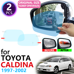 for Toyota Caldina Corona T210 1997~2002 Full Cover Rearview Mirror Rainproof Anti Fog Film Accessories 1998 1999 2000 2001(China)