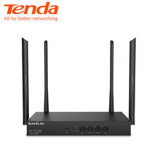 Tenda W18E AC1200M Draadloze Wifi Router Met 2.4G/5.0G High Gain Antenne Dual Band Wifi Repeater, app Controle Vpn(China)