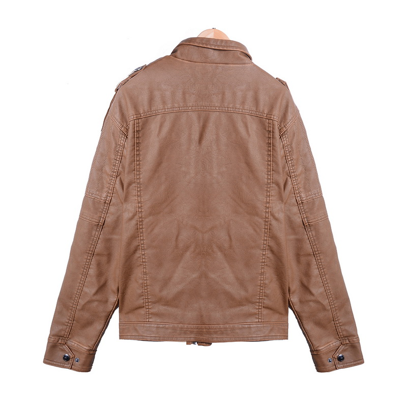 Hbb521829c2ea4ea2903e12ce86887d8dI Luxury 2019 Leather Jackets Men Autumn Fleece Zipper Chaqueta Cuero Hombre Pockets Moto Jaqueta Masculino Couro Slim Warm Coat