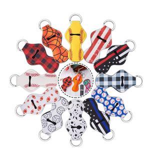 Брелок для ключей «губная помада», держатель для ключей, брелок для ключей Chap, держатель для ключей, портативный Модный чехол для губ LX9069