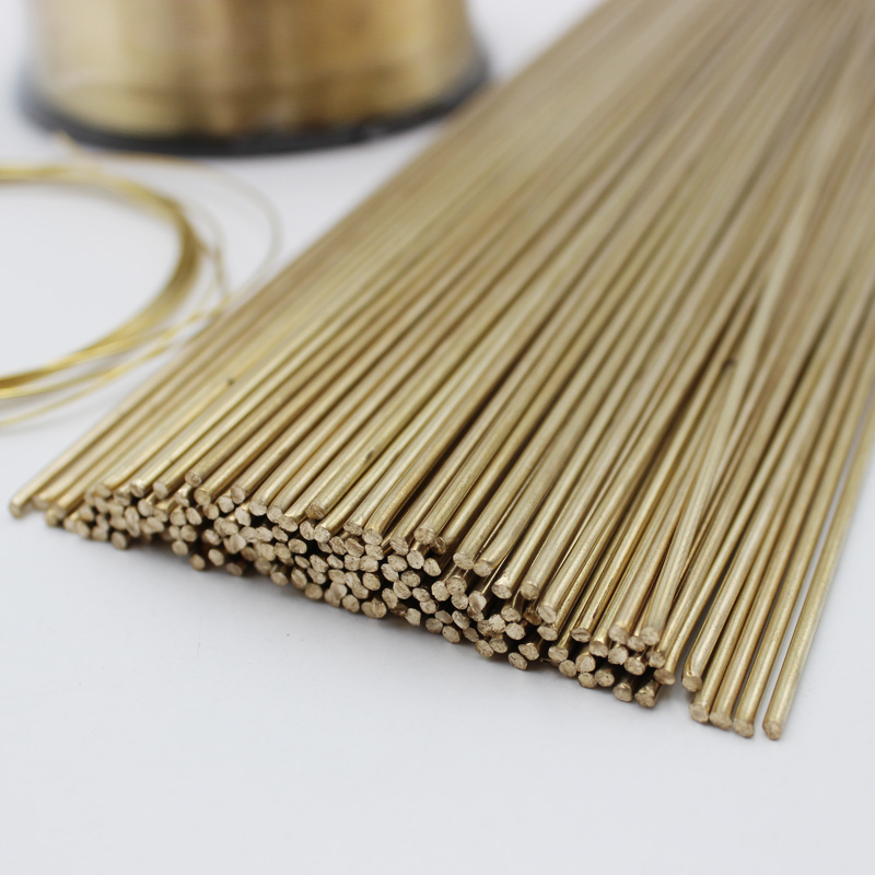 0.8mm/1.0mm/1.6mm/2.0mm/2.5mm/3.0mm/4.0mm/5.0mm/6.0mm Brass Brazing Welding Wire Rods