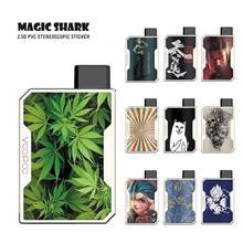 Magic Shark Fashion Game Bloem Super Saiyan Blad Dragon Ball Schedel LOL JINX Case Skin Sticker Film voor Voopoo Slepen nano 041-050(China)