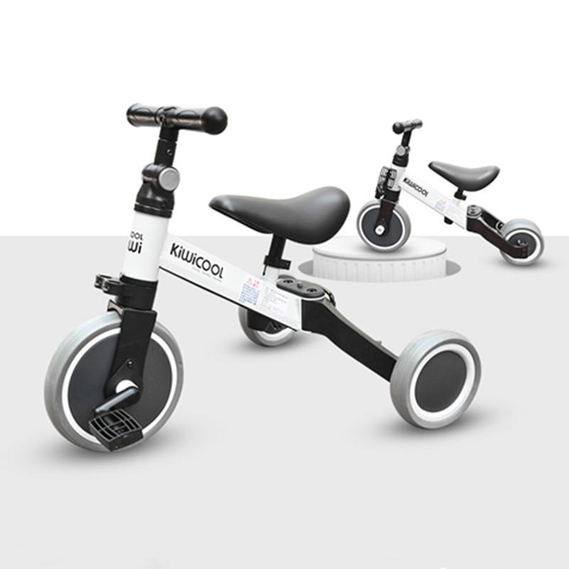 3 in 1 Kids Tricycle Balance bike Baby walker Child Push Bike Toddler Learn to Ride Innrech Market.com