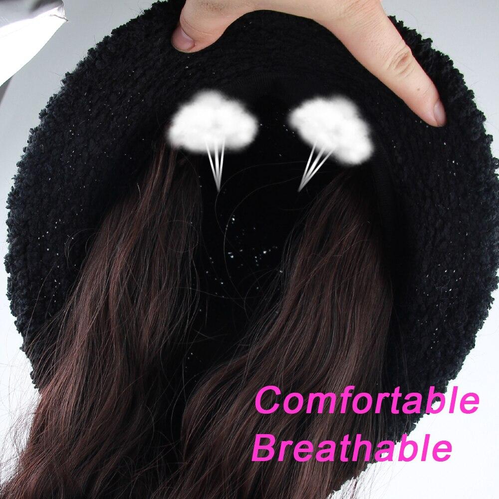 Peruca sintética quente do inverno da peruca