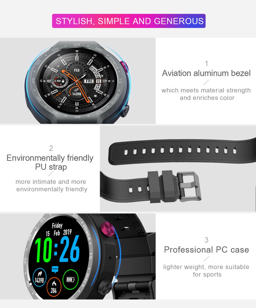 TORNTISC Z30 Dual Systems 4G Smart Watch phone Android 7.1 5MP Front Camera 600Mah Battery Support GPS WIFI Heart Rate Smartwatch PK LEM9 Presale (15)