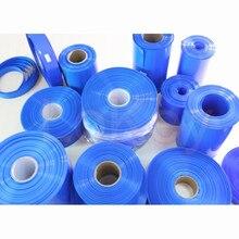 150mm – 420mm 18650 Lithium Battery Heat Shrink Tube Tubing PVC Shrinkable Film Pipe Sleeves Li-ion Wrap Cover Skin Accessories