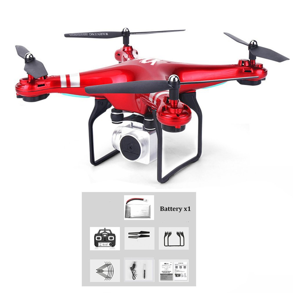 WIFI Camera SH5HD FPV Drone RC Quadcopter Live Video Altitude with 1 battery 2.4GHz 4 Channels 6 Axis Gyro RC Drone