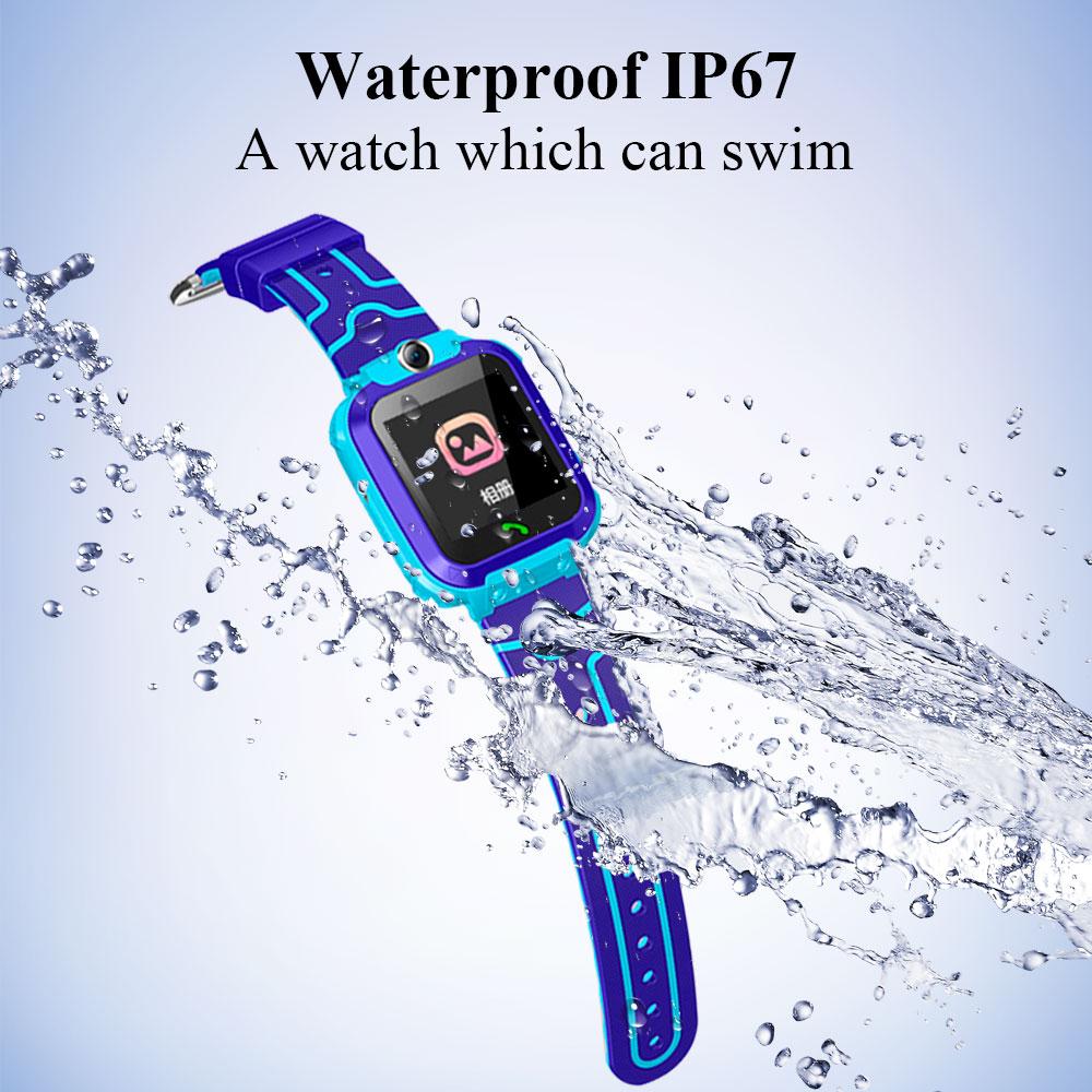 Q12 waterproof smart watch kids waterproof 3