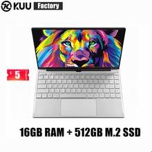 KUU FA-2 14.1 inch Laptop intel 3867U 16GB DDR4 RAM 512GB M.2 SSD FHD screen WIFI Camera slim Student Notebook
