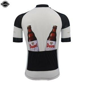 Image 2 - Nowy DUVEL jazda na rowerze jersey mężczyźni z krótkim rękawem oddychająca pro zespół odzież rowerowa Cartoon śmieszne jazda na rowerze odzież top MTB lato odzież sportowa
