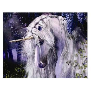Adult Paint By Numbers Mythical Beasts Unicorn Fantasy