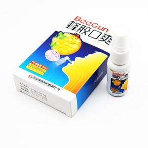 Image 3 - 20 мл натуральный травяной освежитель для рта спрей пчелиный прополис Антибактериальный оральный спрей язвы для ротовой полости лечение зубной боли плохое дыхание