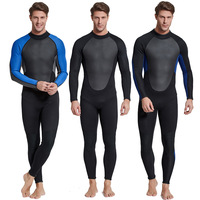 Sbart One piece Diving Suit 3mm Thick Material Warm Cold Snorkeling Suit Winter Swimming Men's Bathing Suit Diving Suit Fishing
