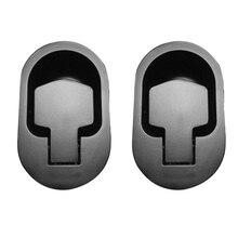 2 шт. черная металлическая ручка дивана Recliner выпуск тянуть регулируемый стул диван рычаг ручки шкафа Замена