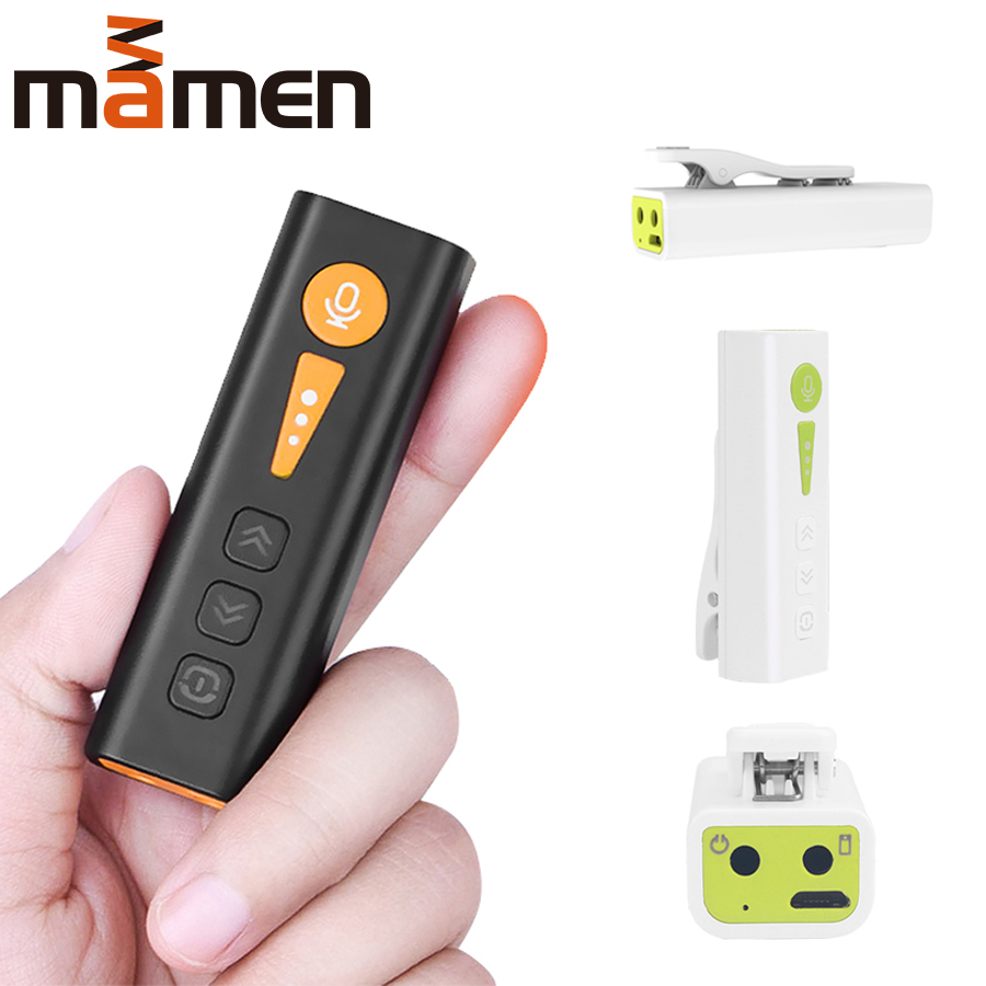 I3K Portable Bluetooth Earphone Microphone With SoundCard Voice Changer Lavalier Microfone With Headset For Phone Live Game Vlog