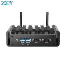 XCY Mini PC Intel Core i7 4500U i5 4200U i3 4010U DDR3L mSATA SSD 2x RS232 Dual NIC HDMI VGA 4xUSB3 0 WiFi Windows Linux