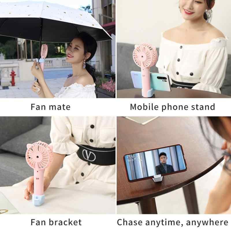 1Pcs Bracketโทรศัพท์มือถือมัลติฟังก์ชั่พัดลมขนาดเล็กArtifactแบบพกพาพัดลมคลิปเหมาะสำหรับแบบพกพาแฟน