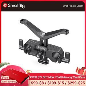 Image 1 - SmallRig para cámara Dslr lente de soporte en forma de Y 15mm LWS soporte de lente Universal con abrazadera de varilla de 15mm aparejo de soporte 2680