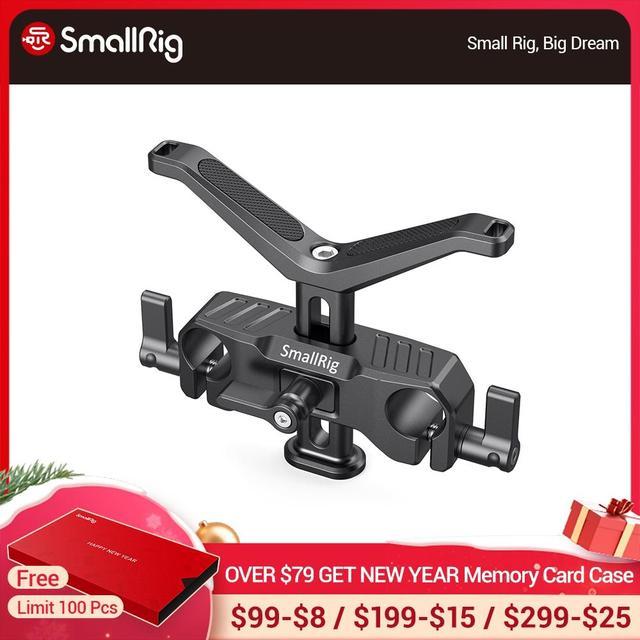 SmallRig para cámara Dslr lente de soporte en forma de Y 15mm LWS soporte de lente Universal con abrazadera de varilla de 15mm aparejo de soporte 2680